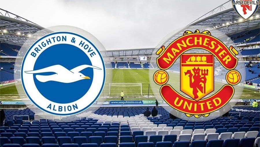 Brighton & Hove Albion, Brighton Vs Man Utd