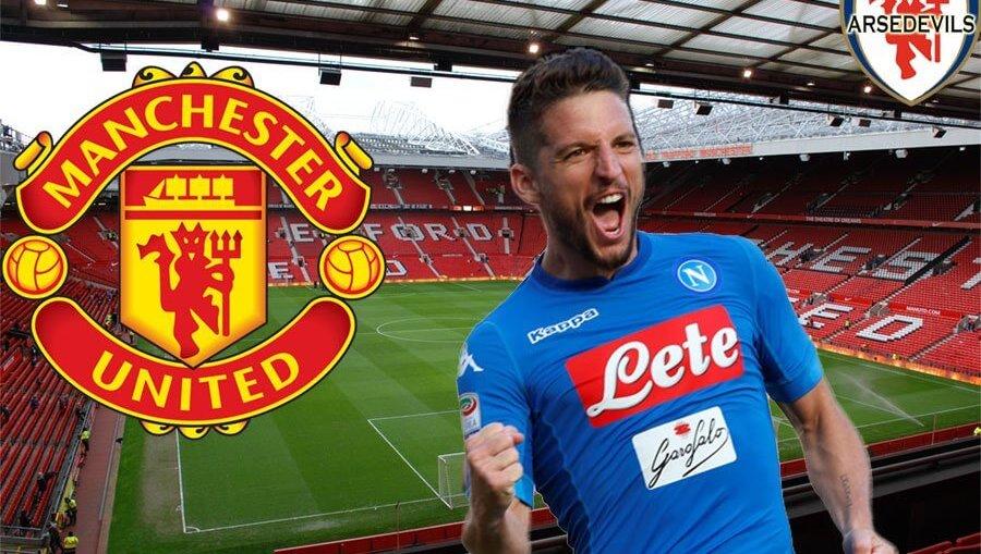 Mertens, Manchester United transfer, Dries Mertens to Man Utd
