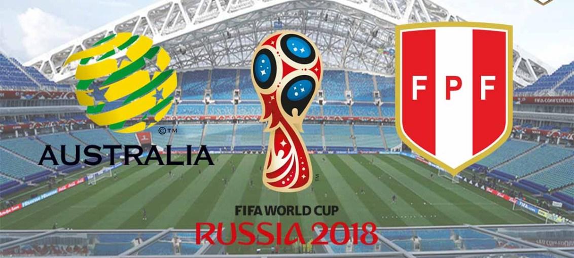 Australia Vs Peru, FIFA World Cup 2018, Russia