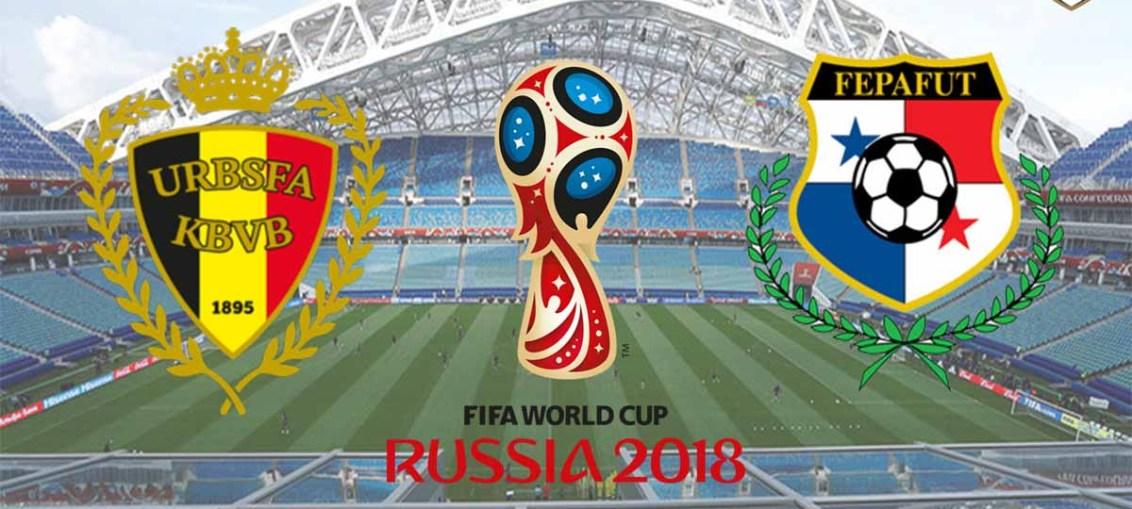 Belgium vs Panama, Belgium Panama squad line up