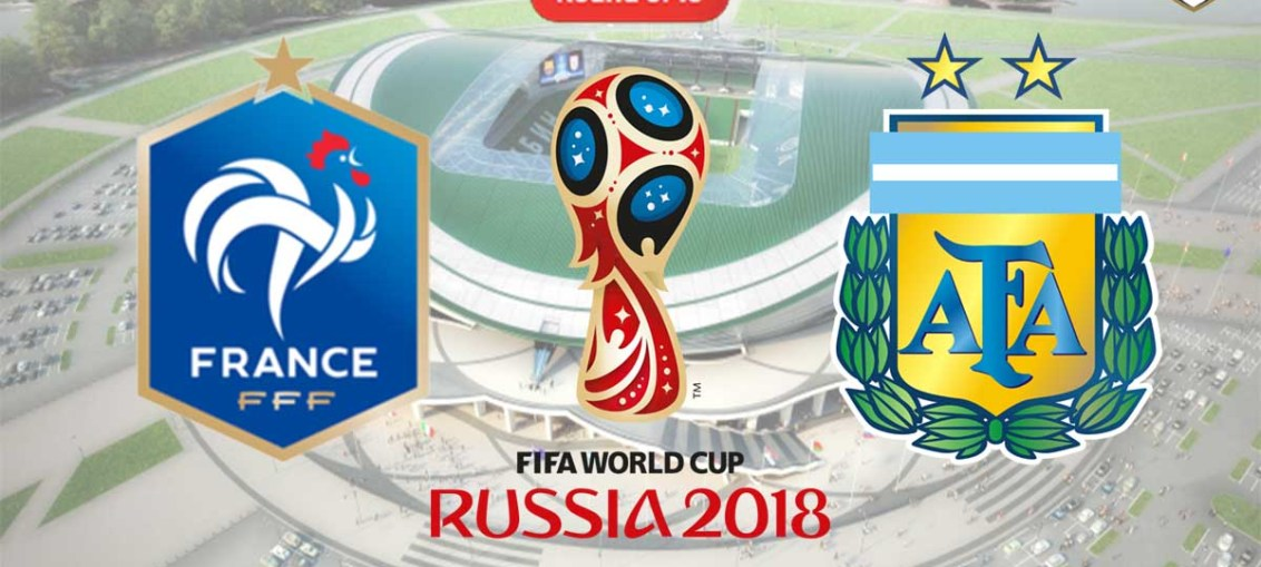 France Vs Argentina, FIFA World Cup 2018, Russia