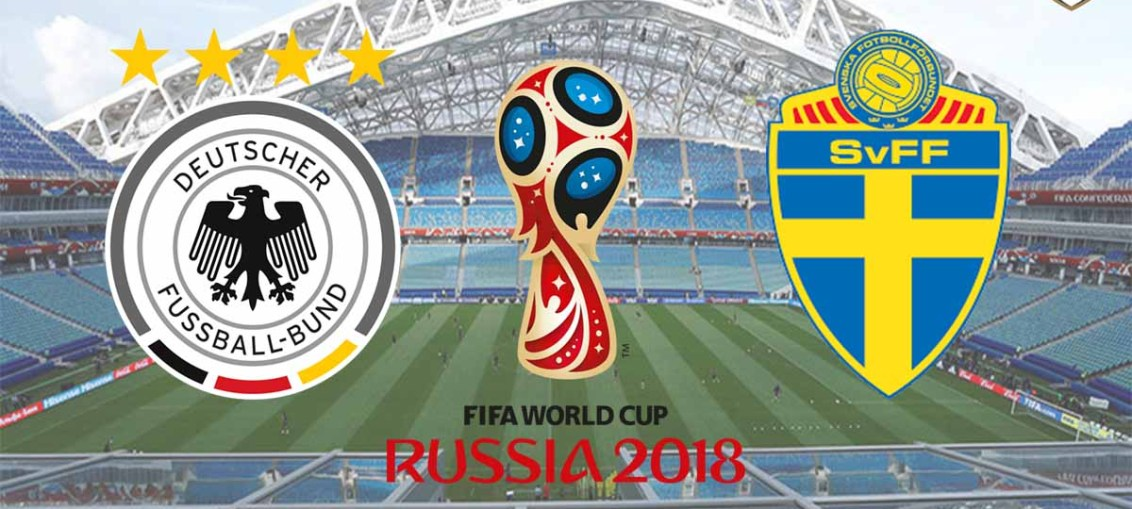 Germany Vs Sweden, FIFA World Cup 2018, Russia