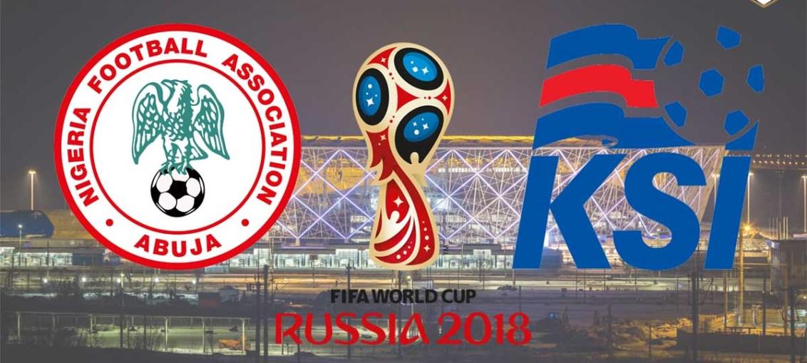 Nigeria Vs Iceland, FIFA World Cup 2018, Russia