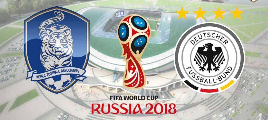 South Korea Vs Germany, FIFA World Cup 2018, Russia
