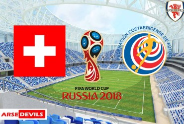 Switzerland Vs Costa Rica, FIFA World Cup 2018, Russia