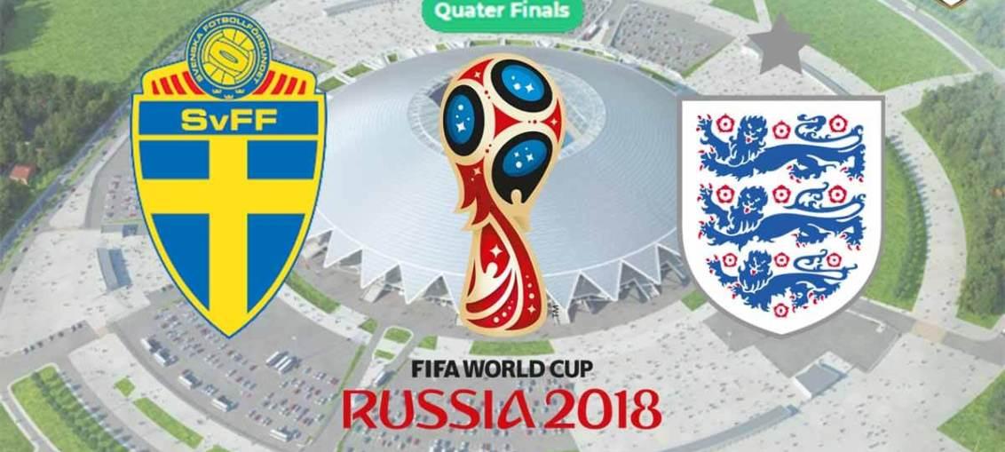 England vs Sweden, England