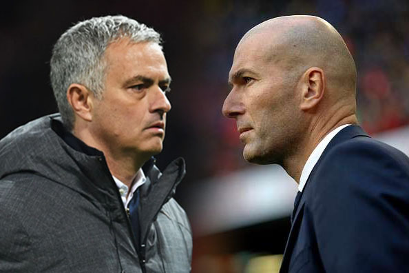 Zidane to replace Mourinho