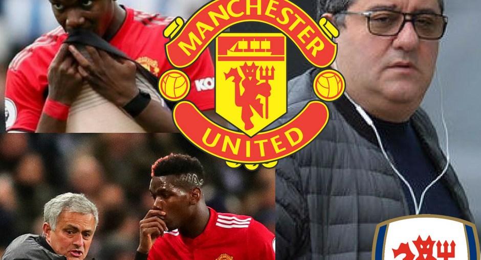 Mino Raiola Reason Behind Pogba Problems At United, Mino Raiola and Paul Scholes War
