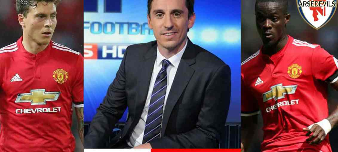 Gary Neville, Bailly, Lindelof, Jose Mourinho