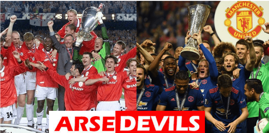 Manchester United used to be a force to be reckoned with. Now, they are merely a shadow of themselves. So what is the major difference betwen then and now?