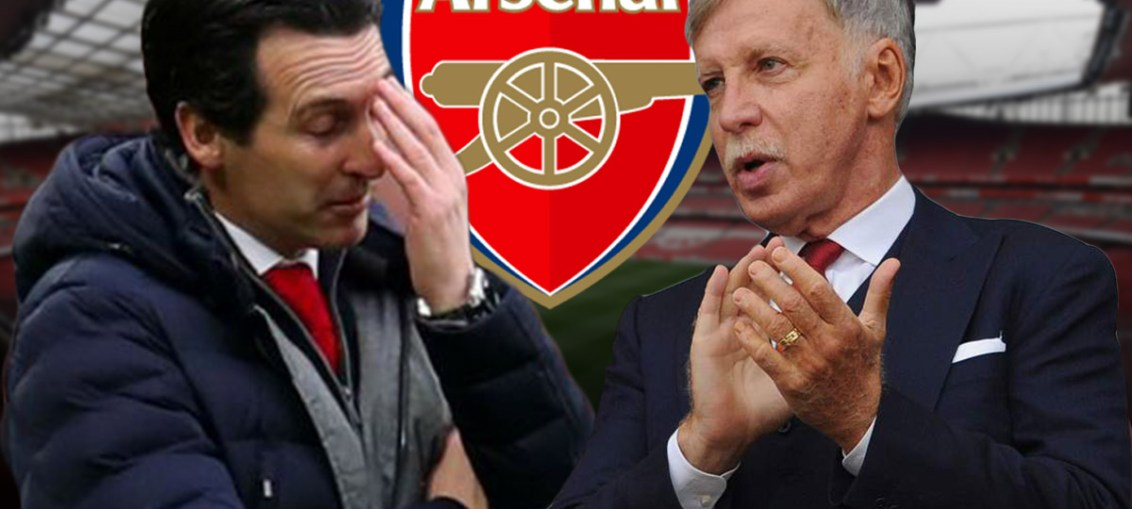 Arsenal, arsenal problems, Kroenke, Unai Emery, Emery