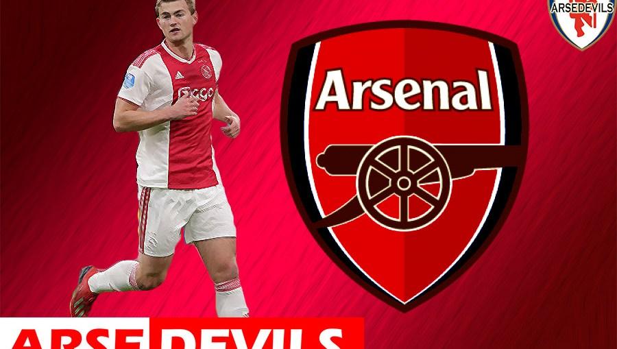 Matthijs De Ligt, Arsenal interest Matthijs De Ligt