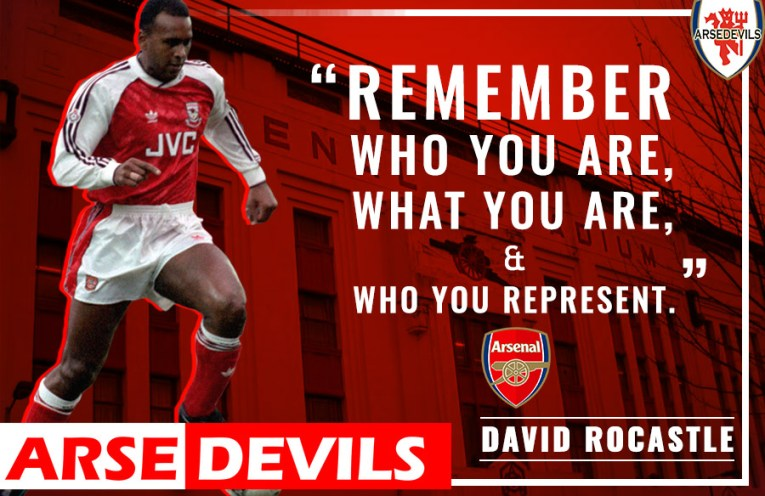 David Rocastle legend who went too early.