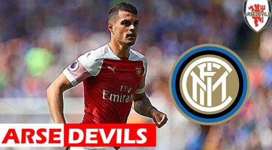 Granit Xhaka, Xhaka linked to Inter Milan