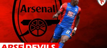Wilfred Zaha, Zaha linked to Arsenal, Zaha transfer request, Zaha