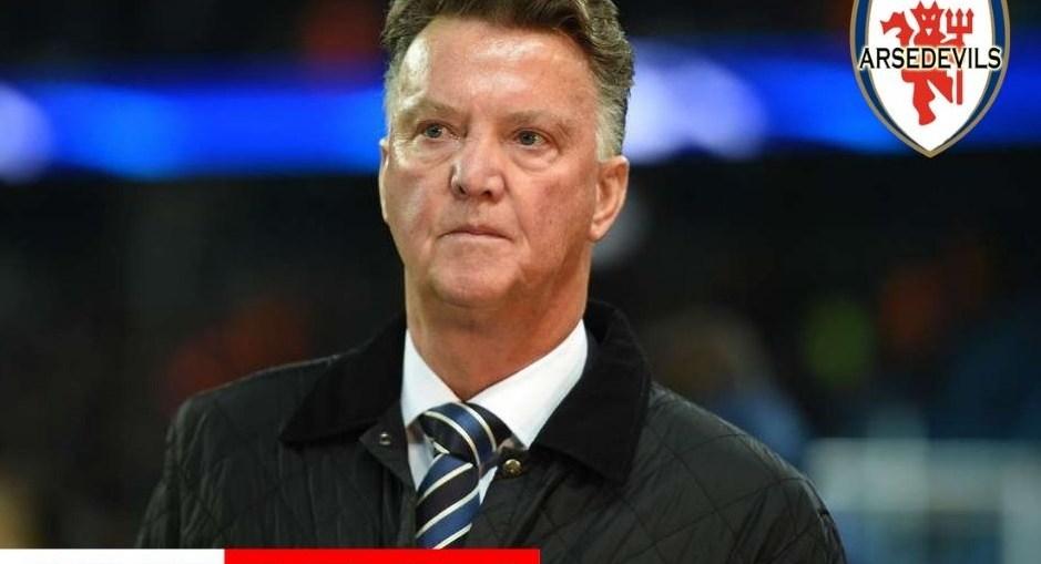 Van Gaal, Arsedevils, Manchester United