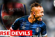Everton Soares, Everton Soares linked to Arsenal, Edu and Soares
