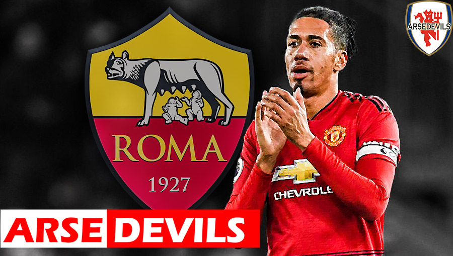 Chris Smalling, Smalling to AS Roma