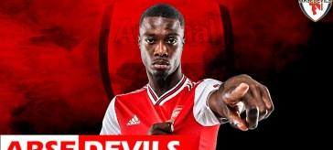 Nicolas Pepe, transfer window, Arsenal transfer window