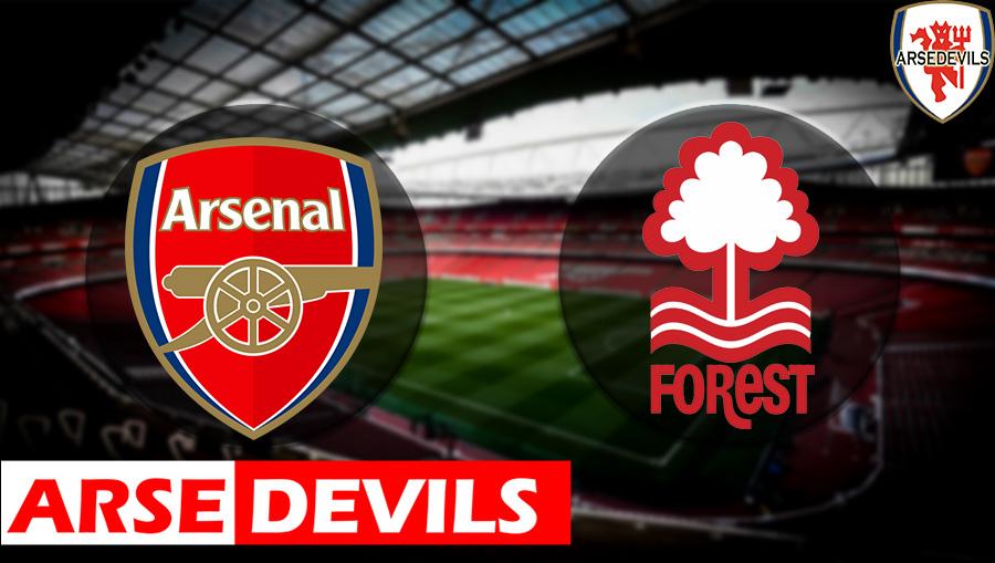 Arsenal Vs Nottingham Forest, Arsenal