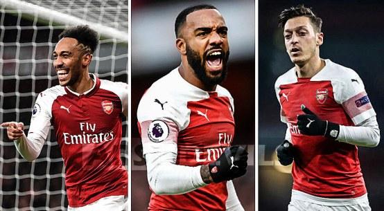 Aubameyang, Ozil, Lacazette, Arsenal departures
