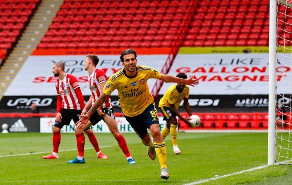Sheffield vs Arsenal, Dani Ceballos goal, Sheffield United