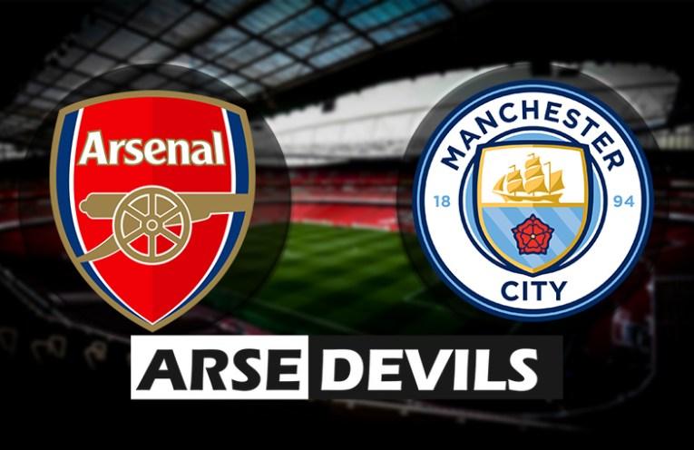 Arsenal vs Manchester City, Arsenal vs Man City