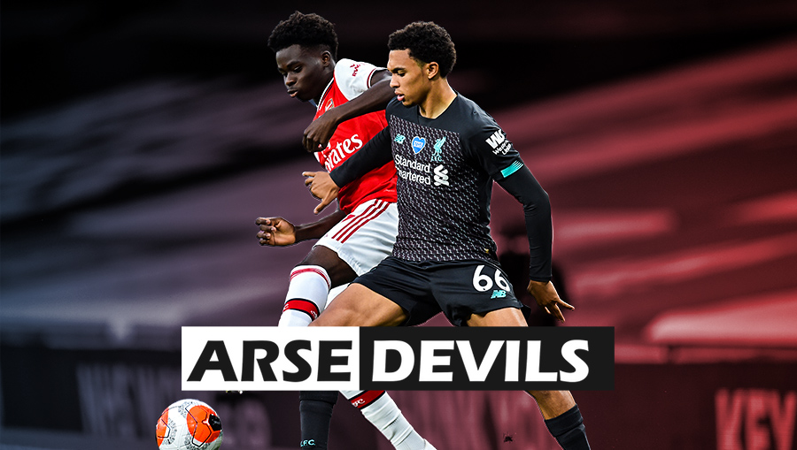 Arsenal vs Liverpool, Arnold, Saka