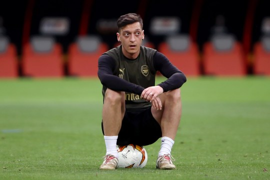 Mesut Ozil Arsenal career