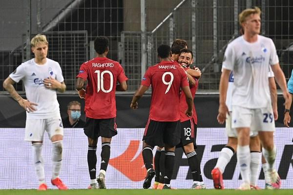 Man United vs Copenhagen, Europa League