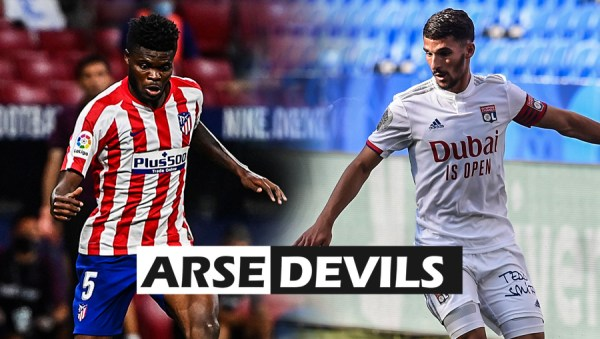 Houssem Aouar, Thomas Partey