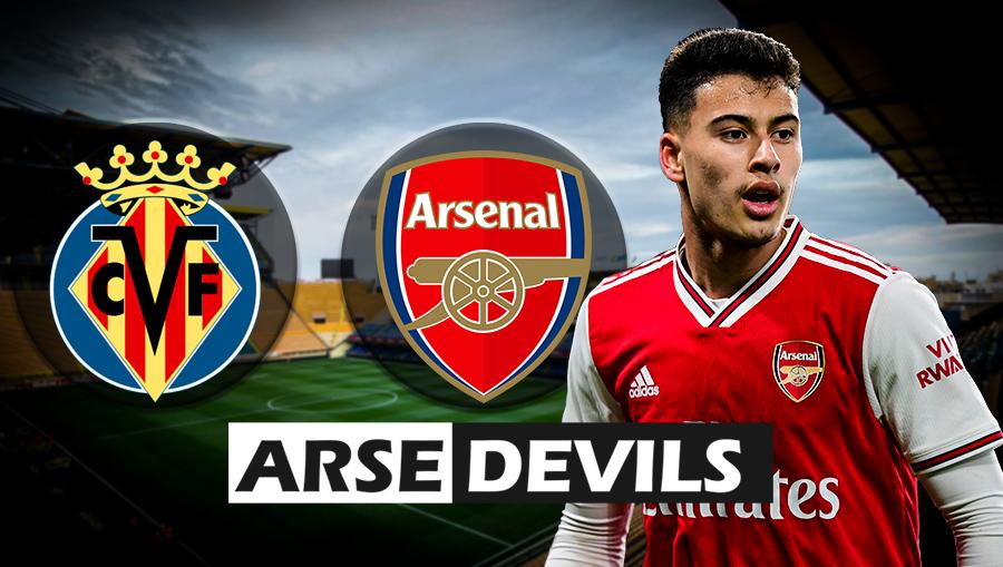 Villarreal vs Arsenal, Gabriel Martinelli
