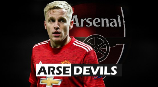Donny van de Beek, Arsenal