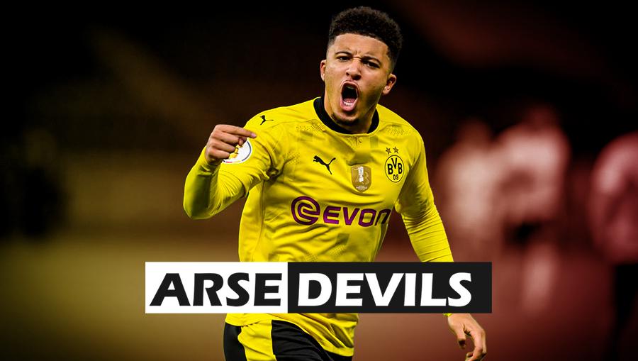 Sancho, United, Dortmund