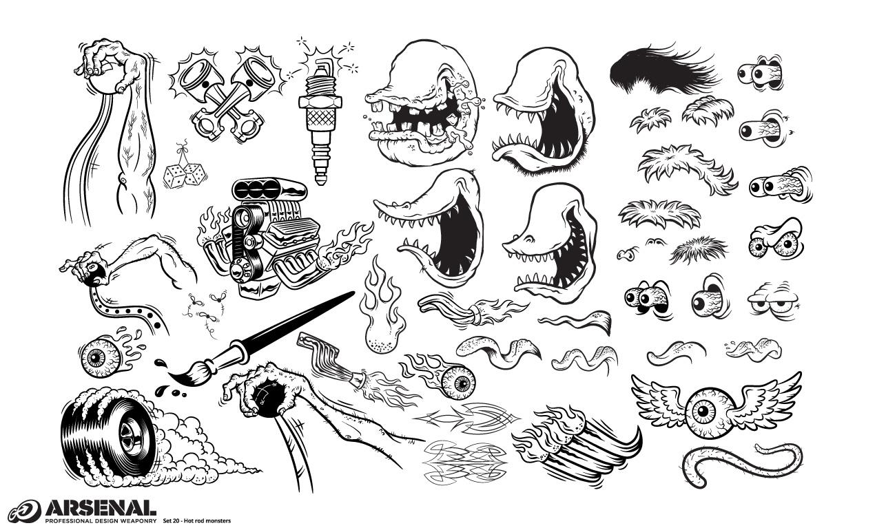 Vectors For Adobe Illustrator Set 20