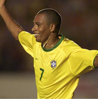 Gilberto Silva is likely to captain Brazil at the Copa America