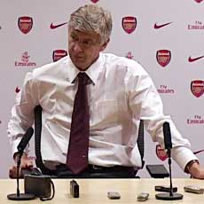 Arsene Wenger was pleased with Arsenal's win over PSG