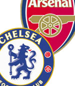 Arsenal host Chelsea on Sunday