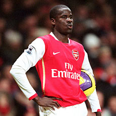 Emmanuel Eboue will unlikely be missed