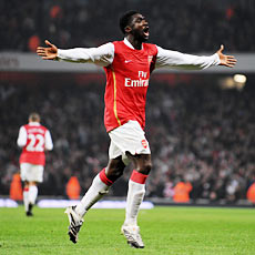 Weekend goalscorer Kolo Toure and his Arsenal teammates are up against it