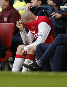 Senderos had a difficult time of it against Villa