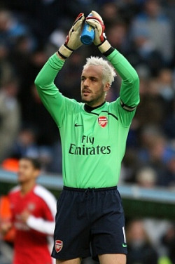 Almunia has enjoyed a fine 08/09 season