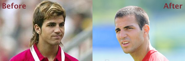 Fabregas - Before & After
