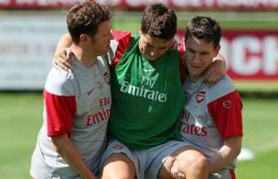 Nasri's injury will put pressure on the Arsenal squad