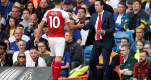 Former Arsenal striker claims duo do not fit into Unai Emery's system at the club