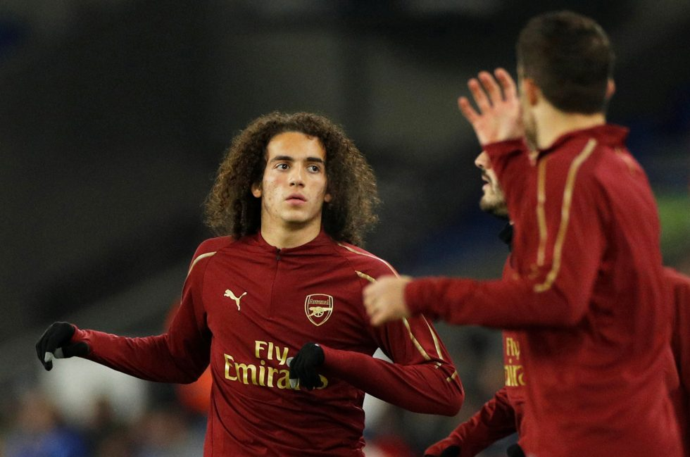 low priced f8b37 02ecb Matteo Guendouzi Reveals His Dream Was To Wear The Arsenal Shirt