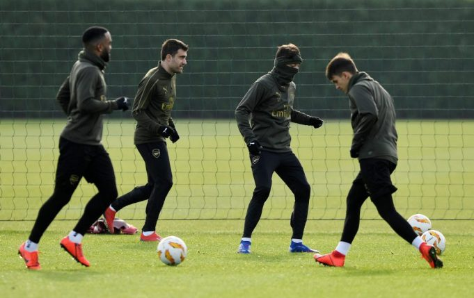 4 Arsenal Stars Return From Injury To Hand Them Boost Ahead Of Europa Tie