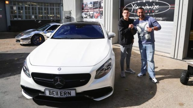 Arsenal Players Cars Hector Bellerin