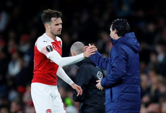 Arsenal Players' Contracts 2018-19 Carl Jenkinson