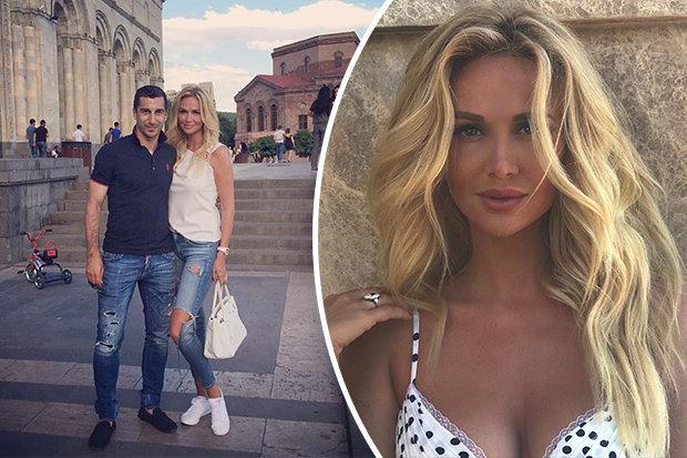 Arsenal Players Wives And Girlfriends Henrikh Mkhitaryan Victoria Lopyreva